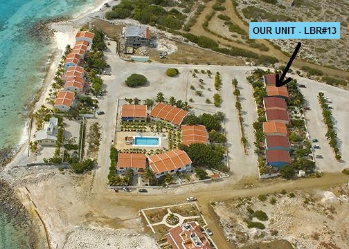 Aerial View of Lighthouse Beach resort